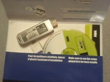 Linksys Compact Wireless G USB Adapter WUSB54GC with documentation and software