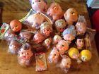 Lot Of 25 Doll Heads, Hong Kong, Korea, Japan Vintage