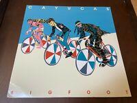 Cayucas~Bigfoot~BLUE VINYL~VG++ Indie Rock LP~Insert~Secretly Canadian~FAST SHIP