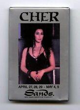 Cher - Hearts Of Stone Tour Pin - Button - Sands Casino - Atlantic City - 1990