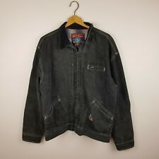 Vintage Mambo Denim Jacket Size M Black