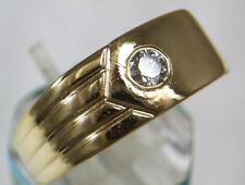 Diamond 9 Carat Solitaire Rings for Men