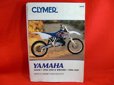 CLYMER Yamaha YZ250 1994-98 & WR250Z 1994-97 SERVICE REPAIR MAINTENANCE No. M498