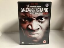 WWE ONE NIGHT STAND  Extreme Rules 2007 (DVD, 2008) Wwe Ppv