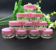 50 Empty Cosmetic Pink jar Container , Makeup Sub-bottling nail powder case 5g