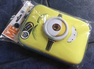 10 X MINIONS HARD TABLET CASE Any 7/8 INCH Tablet NEOPRENE Zippered RRP £14 Each