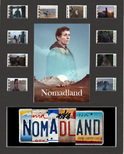 Nomadland Replica Film Cell Presentation 10x8 Mounted 10 Cells