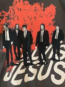 Vintage Elvis Jesus & Co Couture men's short sleeved T-Shirt XL *MUST VIEW*