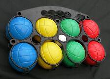 Outdoor Fun Boules Set- 8 Balls - 4 colours - Puck - Petanque Rr £8
