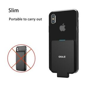 External Battery For iPhone 11 X 8 7 6 XR Charger Case Power Bank Type C 4500mAh