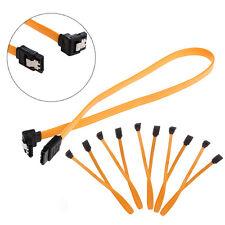 5 x Serial SATA ATA RAID DATA HDD Hard Signal Drive Cable Straight-Right Angle
