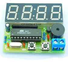 C51 Digital Clock DIY Kit Soldering 4 bit 7 segment UK