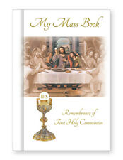 'My Mass Book' Hard Back Communion Book with picture Last Supper