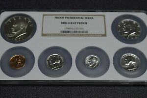 ngc brilliant proof presidential series only 180 ever made  rare !