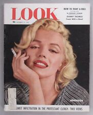 Look Magazine - November 17, 1953 ~~ Marilyn Monroe cover