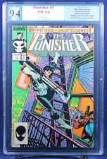 THE PUNISHER #1 (Marvel 1987) PGX (not CGC) 9.4 NM First in Series Netflix HTF