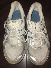 ASICS GEL-1160 White T0J8N DUOMAX Gold 5K 10K Marathon Running Shoes Women's 6