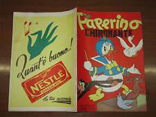 WALT DISNEY ALBO D'ORO N°60 PAPERINO CHIROMANTE 15-1-1953 1°RISTAMPA