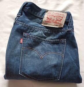 Levi's 504 PCL16B Men's Denim Jeans Size W34 L34 Colour Blue