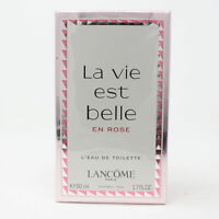 La Vie Est Belle En Rose by Lancome L' Eau De Toilette 1.7oz Spray New With Box