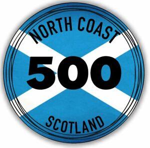 2x Nort Coast 500 Scotland NC500 Vinyl Sticker Decal Waterproof #2010