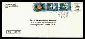 DR WHO 1992 BURKINA FASO KOUDCOGOU AIRMAIL TO USA  g19908