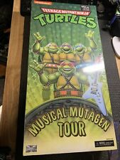 NECA TMNT Musical Mutagen Tour 4 Pack BRAND NEW