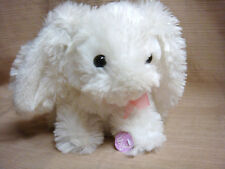 """8"""" Dancing Plush Floppy Ear White Bunny by Dandee - Very Lively"""