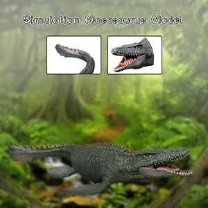 Realistic Large Mosasaurus Model Lifelike Dinosaur Model Figure Playset Model