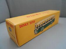 Boite dinky toys identique à l'origine AUTOBUS PARISIEN - 29 D