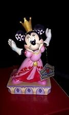 "Disney Showcase Collection Minnie Queen for a Day Figurine, 6.5"" By enesco 40486"