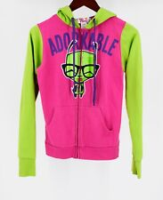Mighty Fine Invader Zim Jacket Zip Hoodie Adorkable Gir Junior Small RARE EMO