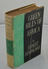 Ernest Hemingway - SIGNED & Inscribed - Green Hills of Africa - First Edition