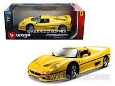Bburago 1/18 Ferrari Race & Play Ferrari F50 Diecast Model Car 18-16004Yl