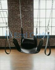 100% Real Cow Leather Bondage Hanging Swing Sling for Adults Sex Fantasy love.