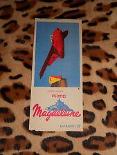 IMAGE - Planche Aviation MIG 19 - Biscottes Magdeleine, Granville