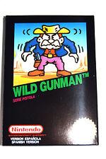 Juego Wild Gunman NES Nintendo Nuevo New PAL España