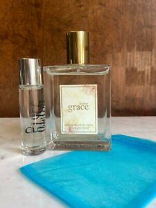 Philosophy Summer Grace 4oz Eau De Toilette Spray Pre-Coty +  Free Sample