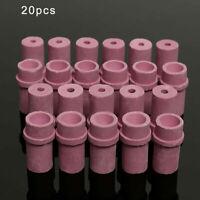 20Pcs Sandblaster Ceramic Nozzles Air Siphon Abrasive Sand Blasting Gun Nozzles