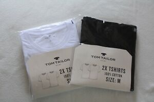!!NEU: 2-er Pack Tom Tailor Rundhalsshirts Unisex - Gr. M/L/XL/2XL/3XL !!