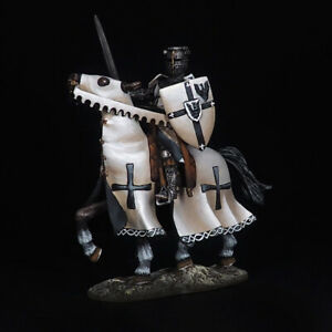 Tin Soldier, Knight of the Teutonic Order, Middle Ages 54 mm