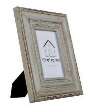 Craftarea 4x6 Wooden Vintage Table Top Home Decor Picture Frame Gray Distressed