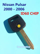 Nissan Pulsar 2000 - 2006 transponder car key