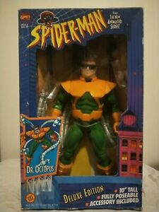 """Spiderman The Animated Series - 10"""" Doctor Octopus Figure, 1995, Boxed"""