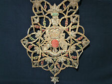 More details for vintage early 20th century anglo indian british raj bridal wedding necklace haar