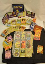 Pokemon Nintendo Card Lot Set 1999 Coins Books Trainers Halo's Ninetales Pikachu