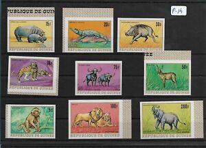SMT, 1968, GUINEA, Mi nr 495/503, MNH imperf set
