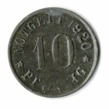 10 Pfennig Olpe 1920 Zink Notgeld Kriegsgeld Funck 409,1 (f28n025)