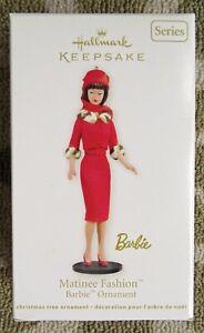 Hallmark 2012 Barbie Doll Ornament Matinee Fashion -19th in series NIB