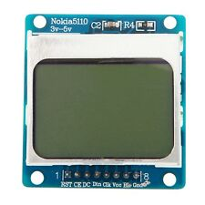 LCD Screen Display Module White Backlight Adapter PCB 3v-5v for Nokia 5110